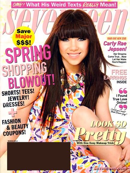 Seventeen Cover - 3/1/2013