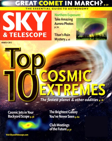 Sky & Telescope Cover - 3/1/2013