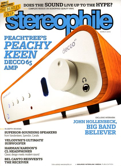 Stereophile Cover - 3/1/2013