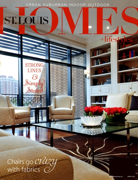 St. Louis Homes & Lifestyles Cover - 3/1/2013