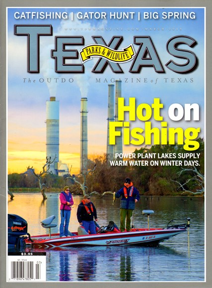 Texas Parks & Wildlife Cover - 3/1/2013