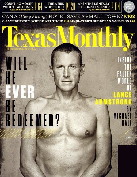 Texas Monthly Cover - 3/1/2013