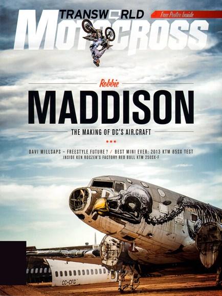 Transworld Motocross Cover - 3/1/2013