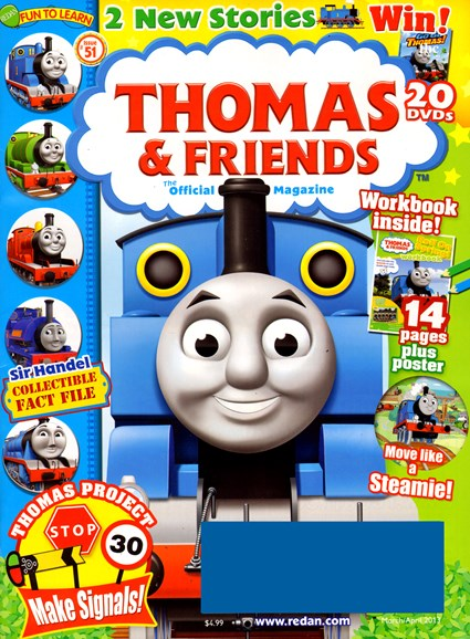 Thomas & Friends Cover - 3/1/2013