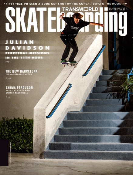 Transworld SKATEboarding Cover - 3/1/2013
