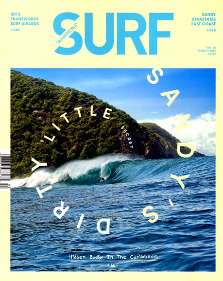 Transworld SURF Cover - 3/1/2013