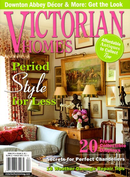 Victorian Homes Cover - 3/1/2013