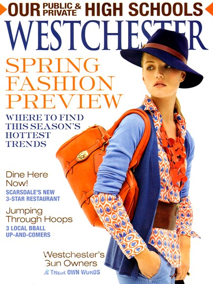 Westchester Magazine Cover - 3/1/2013
