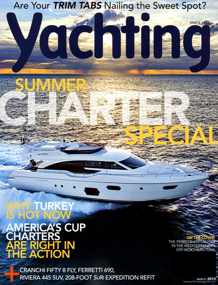 Yachting Cover - 3/1/2013