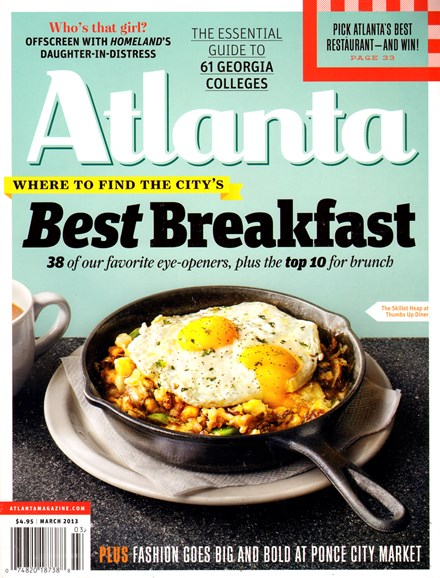 Atlanta Magazine Cover - 3/1/2013