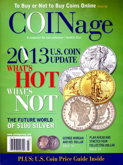 Coinage Cover - 3/1/2013