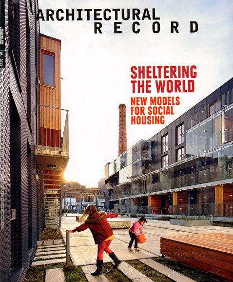 Architectural Record Cover - 3/1/2013