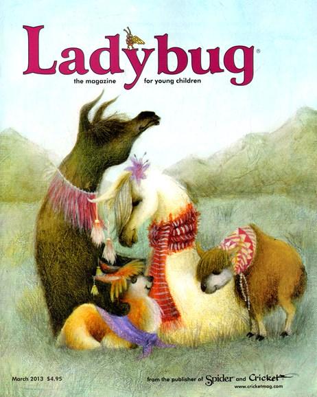 Ladybug Cover - 3/1/2013