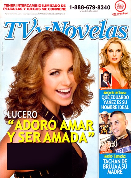 Tv Y Novelas Cover - 3/1/2013