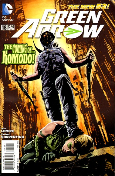 Green Arrow Cover - 5/1/2013