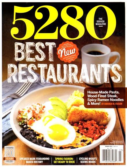 5280 Magazine Cover - 3/1/2013