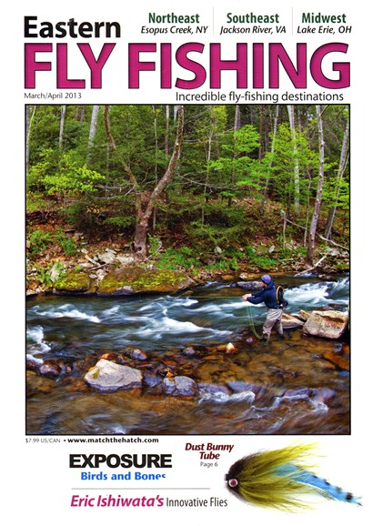 Eastern Fly Fishing Cover - 3/1/2013