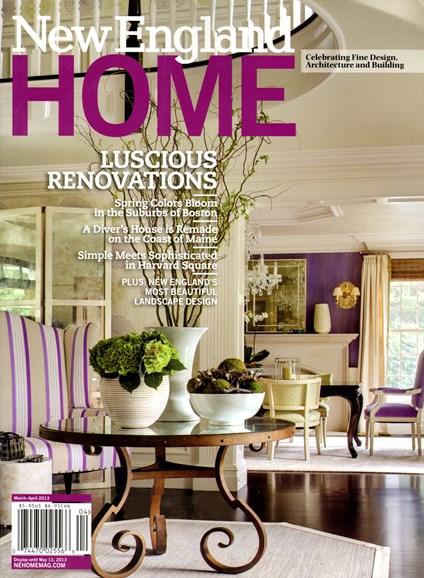 New England Home Cover - 3/1/2013