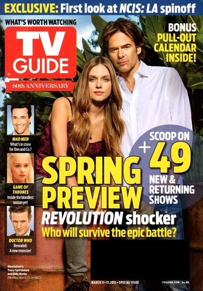 TV Guide Cover - 3/1/2013