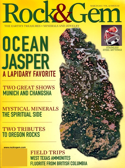 Rock & Gem Cover - 3/1/2013