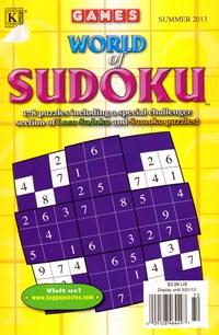 World Of Sudoku Magazine | 6/2013 Cover
