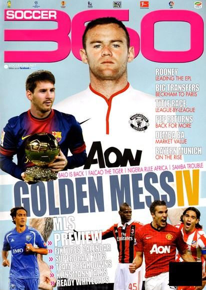 Soccer 360 Cover - 4/1/2013