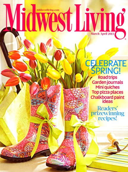 Midwest Living Cover - 3/1/2013