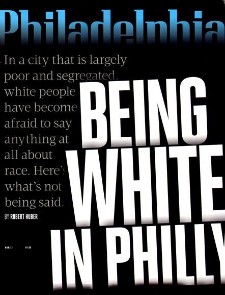 Philadelphia Magazine Cover - 3/1/2013