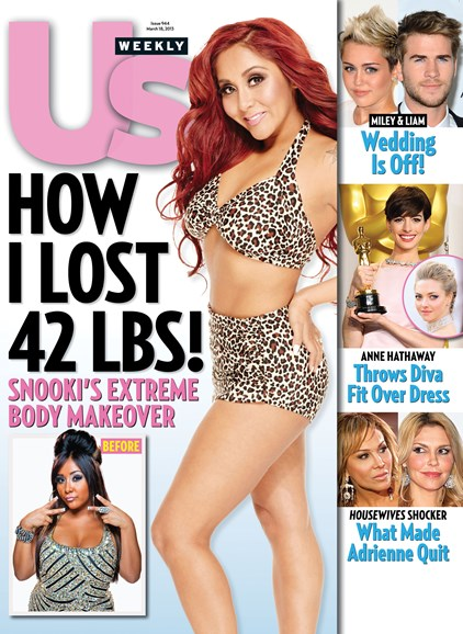 Us Weekly Cover - 3/18/2013