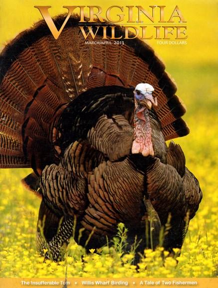 Virginia Wildlife Cover - 3/1/2013