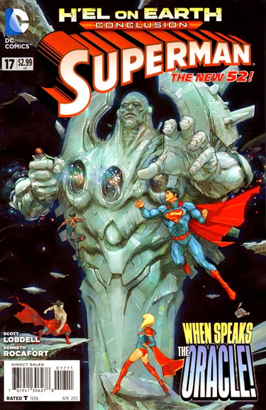 Superman Cover - 4/1/2013