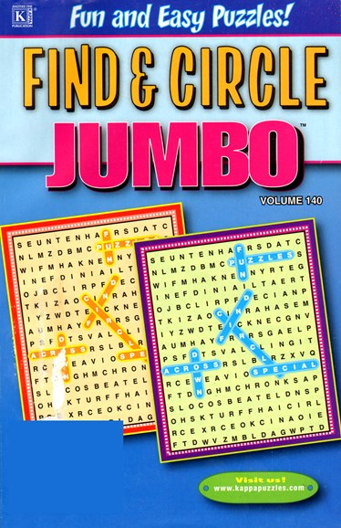 Find & Circle Jumbo Cover - 2/1/2013