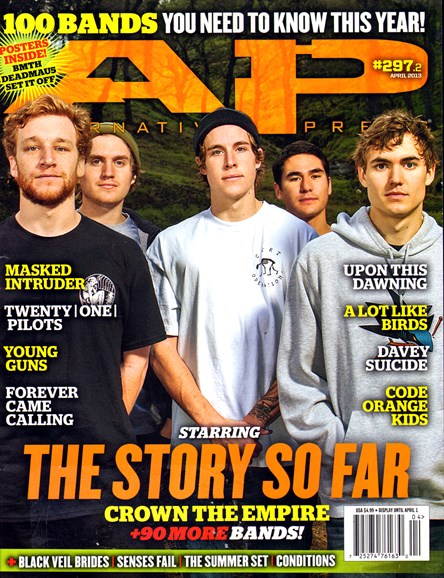 Alternative Press Cover - 4/1/2013