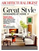 Architectural Digest 4/1/2013
