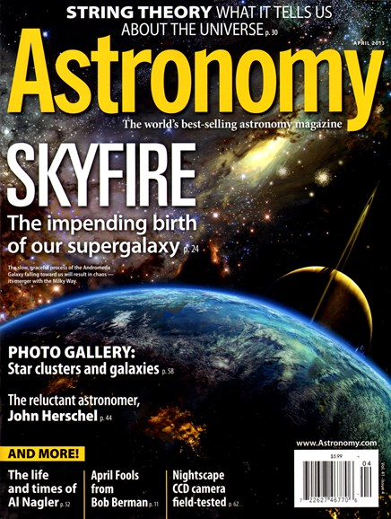 Astronomy Cover - 4/1/2013