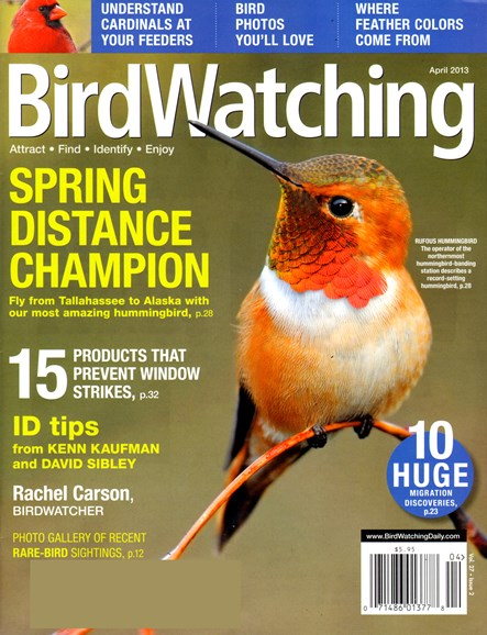 Bird Watching Cover - 4/1/2013