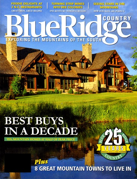 Blue Ridge Country Cover - 4/1/2013