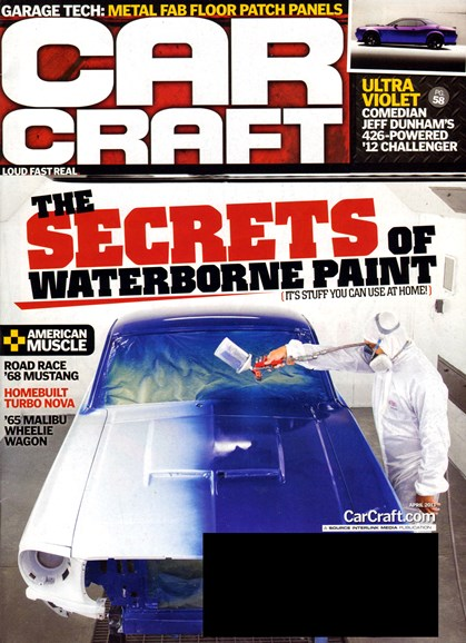 Car Craft Cover - 4/1/2013