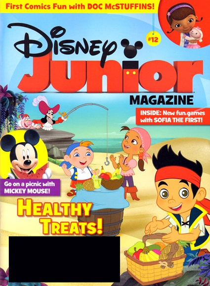 Disney Junior Cover - 4/1/2013