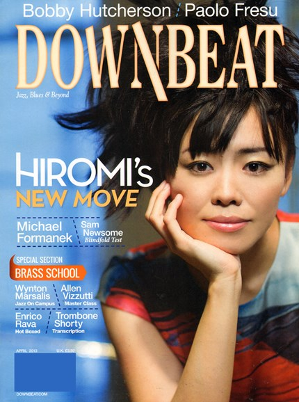 DownBeat Cover - 4/1/2013