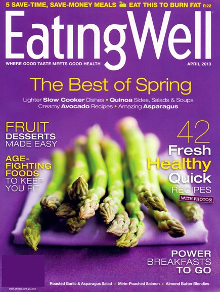 EatingWell Cover - 4/1/2013