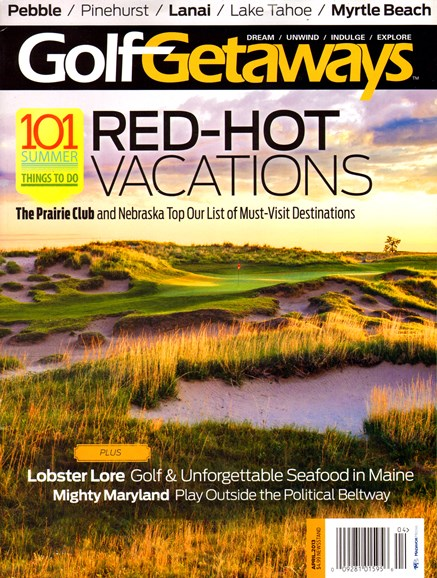 Golf Getaways Cover - 4/1/2013
