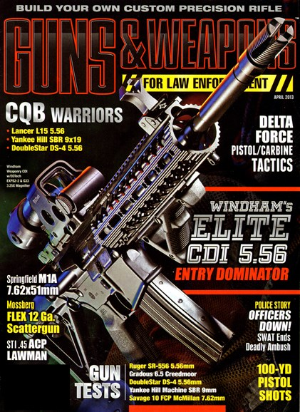 Guns & Weapons For Law Enforcement Cover - 4/1/2013