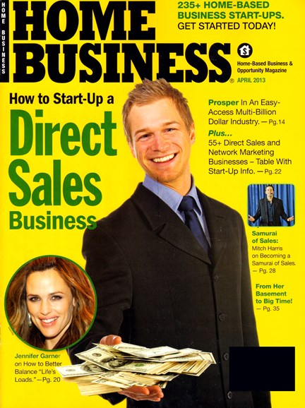 Home Business Magazine Cover - 4/1/2013