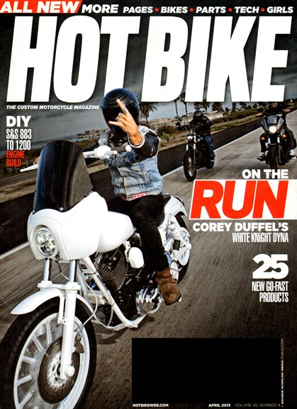 Hot Bike Cover - 4/1/2013