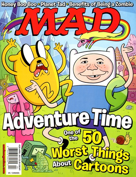 Mad Cover - 4/1/2013