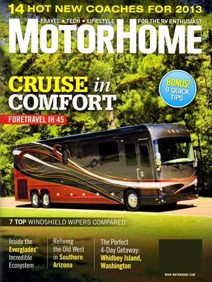 MotorHome Cover - 4/1/2013