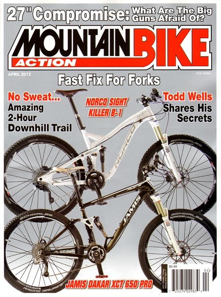 Mountain Bike Action Cover - 4/1/2013
