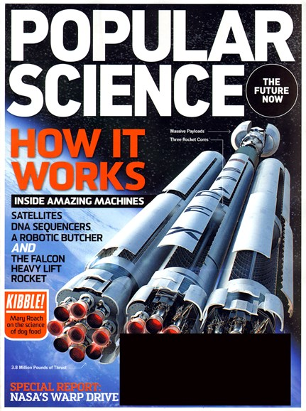 Popular Science Cover - 4/1/2013