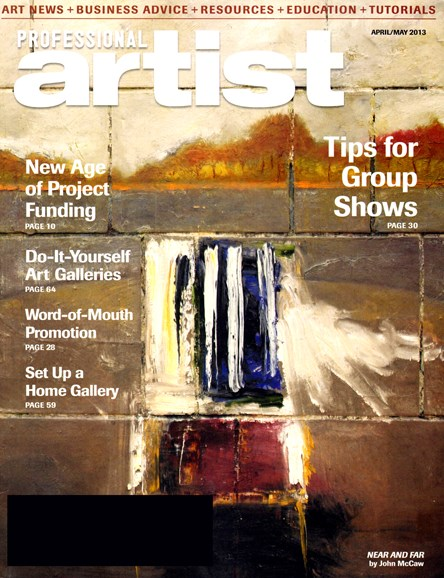 Professional Artist Cover - 4/1/2013